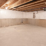 new basement has been insulated and waterproof